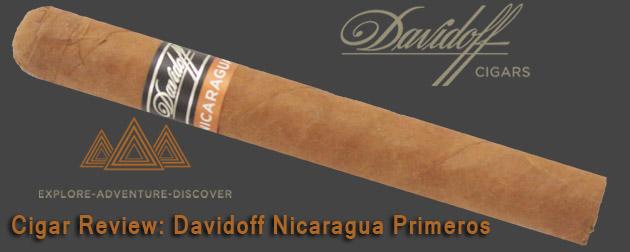 Cigar Review: Davidoff Nicaragua Primeros - Emerson's Cigars