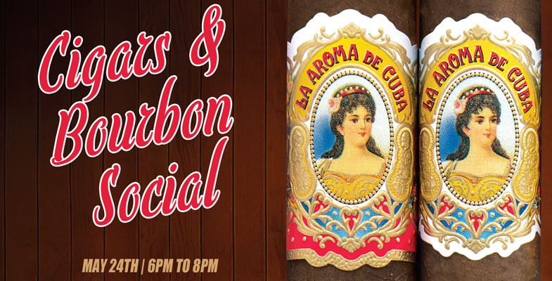 La Aroma de Cuba Cigars and Bourbon