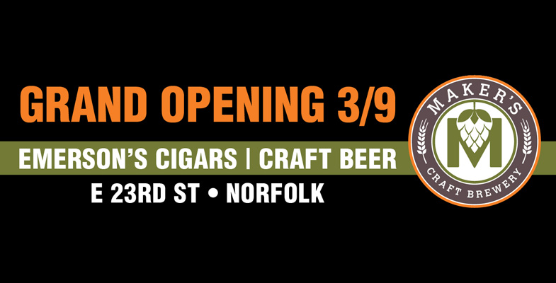 Emerson's Cigars at Maker's Craft Brewery Grand Opening