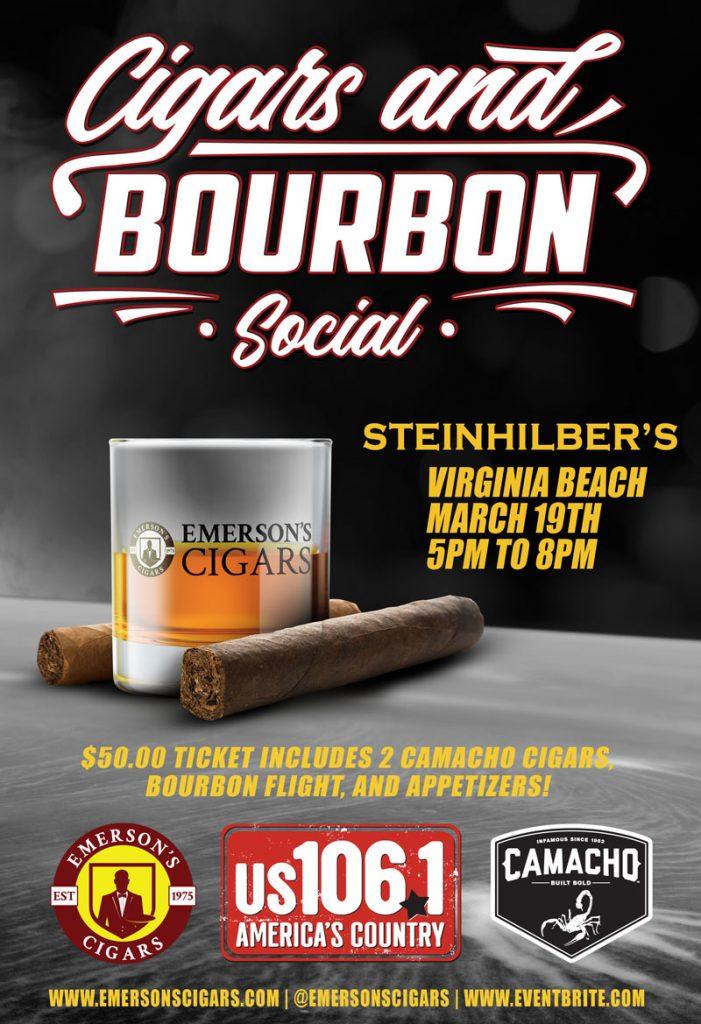 Camacho Cigars and Bourbon