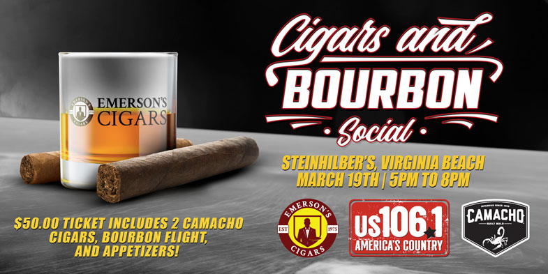 Camacho Cigars and Bourbon Social