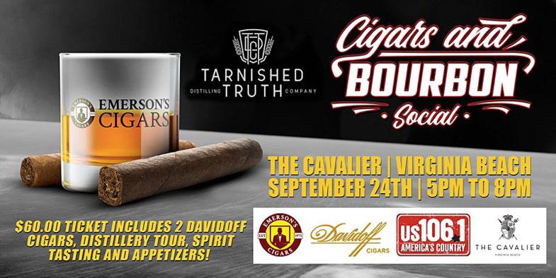 Davidoff Cigars And Bourbon Social